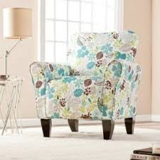Upholstered Accent Chair Floral Upholstered Accent Chair Foter