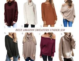 best amazon sweaters under 50 urban blonde