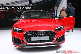 new audi rs5 coupe debuts at 2017 geneva motor show