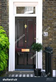 english oak front door old doors designs stock photo view red