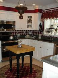 painted kitchen cabinets with black appliances best home decor