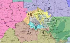 houston map districts races and redistricting fair redistricting map