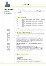 Cv And Resume Templates Curriculum Vitae Cv Resume Samples U0026 Resume Format