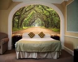 Amazon Wall Murals Startonight Mural Wall Art Photo Decor Trees Tunnel Medium 4 Feet