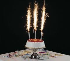 birthday cake sparklers premium cake sparklers 6 inch