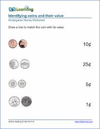 money identification worksheets worksheets