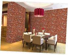 7buy modern faux brick wallpaper 3d stone pattern vinyl waterproof