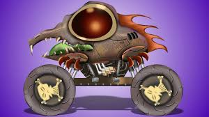 Halloween Monster by Scary Monster Truck Halloween Special Youtube