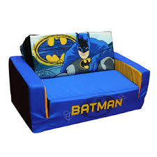 batman flip sofa bed with sleeping bag rollaway beds shipped