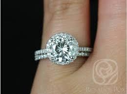 8mm diamond rosados box kubian 8mm platinum f1 moissanite and diamond