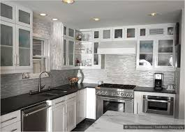 backsplash for black and white kitchen black and white kitchen backsplash glass marble mixed tile this
