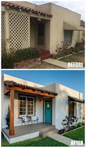before and after a sweet spanish bungalow by the beach spanish