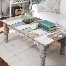 Painted Coffee Table Distressed Painted Coffee Table A Florida Home Pinterest
