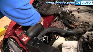 how to install replace air filter ford mustang 94 04 3 8 l v6