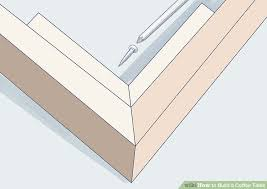 how to build a coffee table 10 steps with pictures wikihow