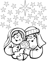 100 ideas christmas nativity coloring pages emergingartspdx