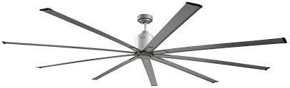 black industrial ceiling fan amazon com big air icf96ups industrial ceiling fan 96 inch silver