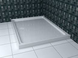 rectangular shower base slate custom tray italian honed ardesia