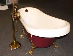 Clawfoot Bathtub Feet Classic Clawfoot Tub W Regal Brass Lion Feet Gold Telephone