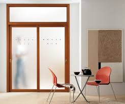 modern interior doors between the wooden and the glass one