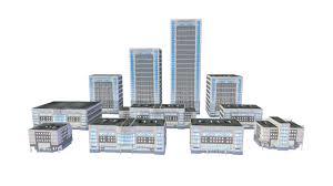 Modern City Modern City Buildings Pack 3d Asset Cgtrader