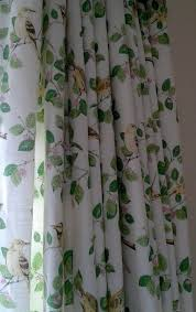 Interlined Curtains For Sale Laura Ashley Mtm Interlined Curtains Aviary Garden Pinch Pleat