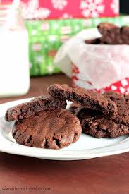 gluten free dairy free chocolate peanut butter cookies the