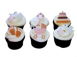 cupcake baby shower toppers baby shower cupcake toppers or cake
