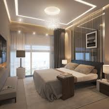 modern luxury master bedroom ideas with beige wall color and