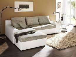 sofa grau weiãÿ ecksofa 250x193cm grau weiß sofa schlafsofa