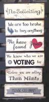 no soliciting sign home decor funny no solicting signs