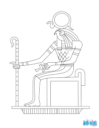 egyptian god ra coloring pages hellokids com