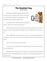 the skeleton key super teacher worksheets