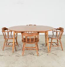 s bent u0026 bros colonial dining table u0026 chairs ebth
