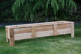 Raised Garden Bed With Bench Seating Deck Planters Seat Gorgeous Deck Planters In Small Space U2013 Laluz