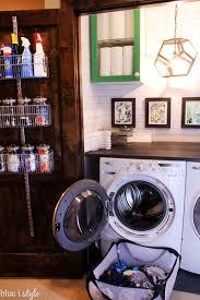 one room challenge laundry u0026 linen closet makeover blue i style