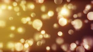 Party Lighting Golden Yellow Party Lights Celebrations Abstract Background For