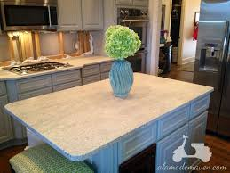 White Hut Kitchen by Alamode The Kashmir White Granite Is Installed