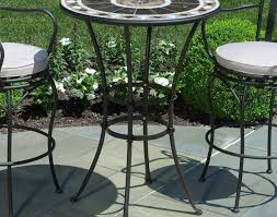 Bar Table And Chairs Patio U0026 Pergola Outdoor Bar Table And Chairs Ideas Stunning
