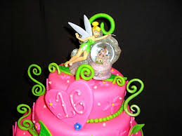 sweet 16 tinkerbell cake cakecentral