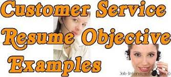 Best Objective For A Resume by Resume Objective For Customer Service Berathen Com