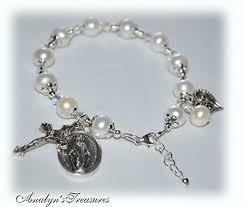 silver pearls bracelet images Pearl rosary bracelet fresh water pearls sterling jpg