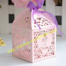 personalized favor boxes wedding giveaway gifts for guests personalized wedding favors and