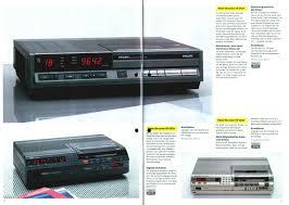 K Hen Katalog Philips Katalog Sommer 1984 Farbfernseher Video Recorder