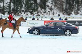 maserati penalty team maserati is the winner of snow polo world cup st moritz 2016