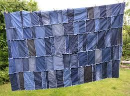 Denim Rag Rug Super Easy Diy Denim Rag Quilt Vicky Myers Creations