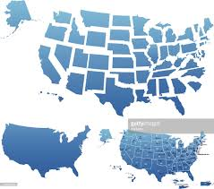 Usa Map Outline by Usa Map Outline With State Capitals And Its Territories Vector Art