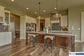 country kitchen with custom hood u0026 mexican tile backsplash in