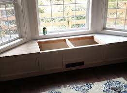 Kitchen Storage Bench Seat Plans by Best 25 Bench Seat With Storage Ideas On Pinterest Storage