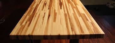 wood butcher block table custom cut butcher block countertop butcher block island top